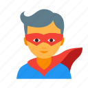 character, comics, hero, male, personage, superhero, superman icon