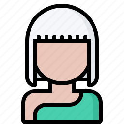 avatar, beauty, hairstyle, people, saloon, style, woman icon