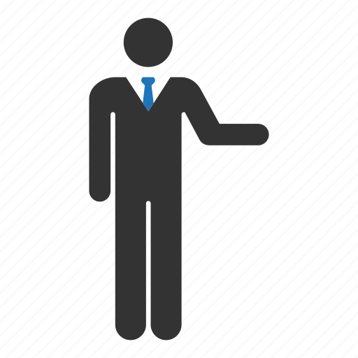 businessman, man, manager, office, people, person, user icon