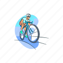 activity, bicycle, cycling, exercise, hobby icon