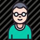 account, avatar, man, people, user icon