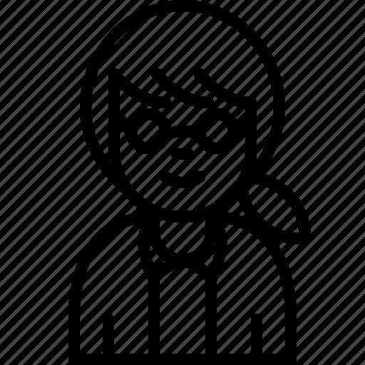 avatar, job, people, person, profile, user, woman icon