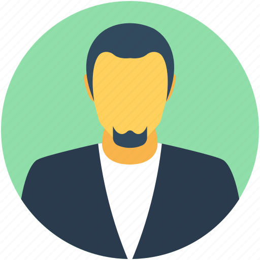 businessman, employee, journalist, leader, reporter icon