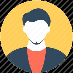 employee, fashion boy, male avatar, student, young boy icon
