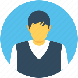 boy, guy, person, worker, young boy icon