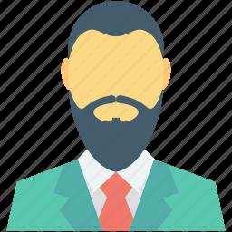 beard, muslim, muslim avatar, muslim businessman, muslim man icon