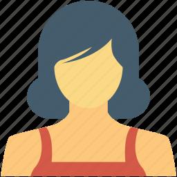 avatar, female, model, model girl, stylish woman icon