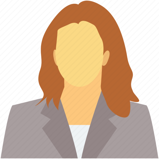 assistant, female, female manager, personal assistant, receptionist icon
