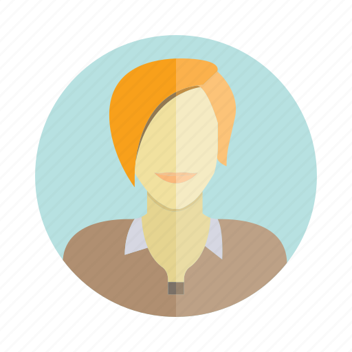 avatar, business woman, character, people, person, user, woman icon