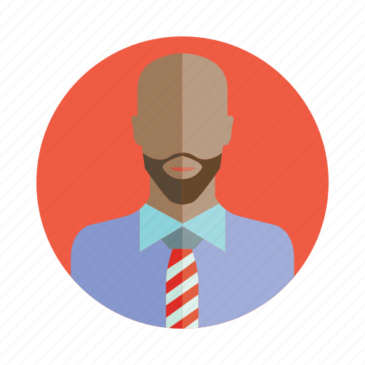 avatar, bald, beard, business man, people, person, user icon
