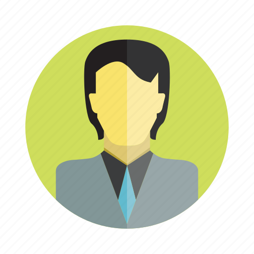 avatar, business man, human, man, people, person, user icon