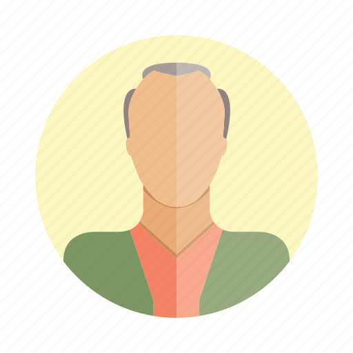 avatar, character, man, old, people, person, user icon