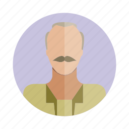 avatar, character, human, old, people, person, user icon