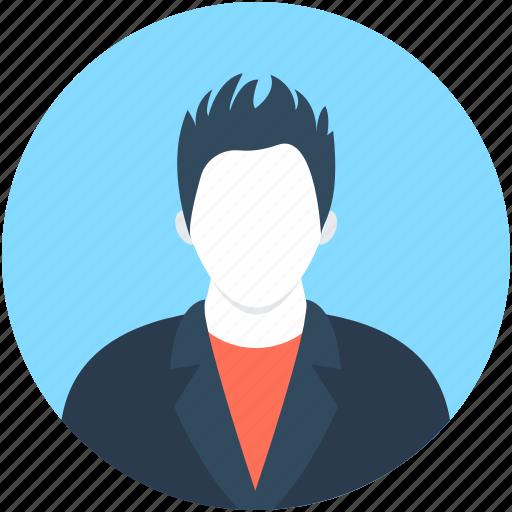 assistant, boy avatar, employee, fashion boy, young boy icon