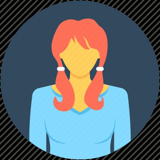 employee, female, female worker, personal assistant, secretary icon