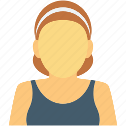 female, people, sports girl, sports woman, woman icon