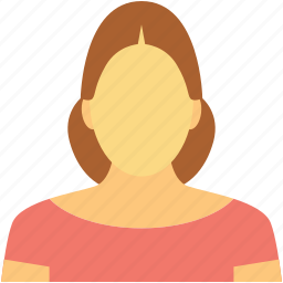 lady, lady servant, madam, miss, news caster icon