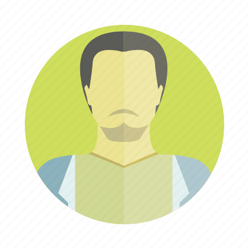 avatar, beard, character, man, people, person, user icon
