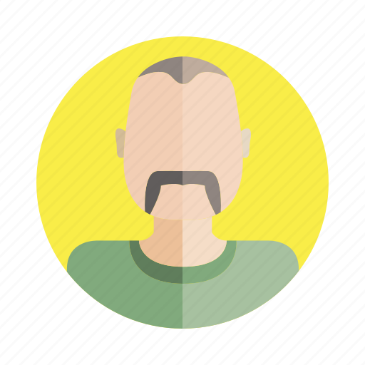 avatar, beard, character, old, people, person, user icon