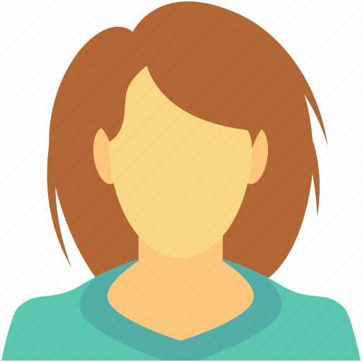 female, female profile, girl, lady servant, woman icon