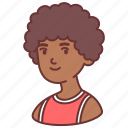 man, male, afro, people, avatar, user, african