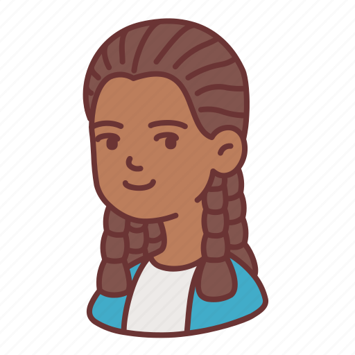 African, avatar, dreadlocks, female, girl, woman, young icon - Download on Iconfinder