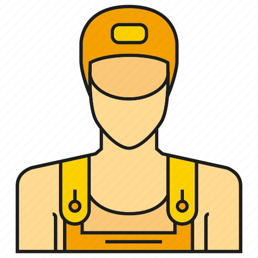 avatar, face, human, people, person, profile, service man icon