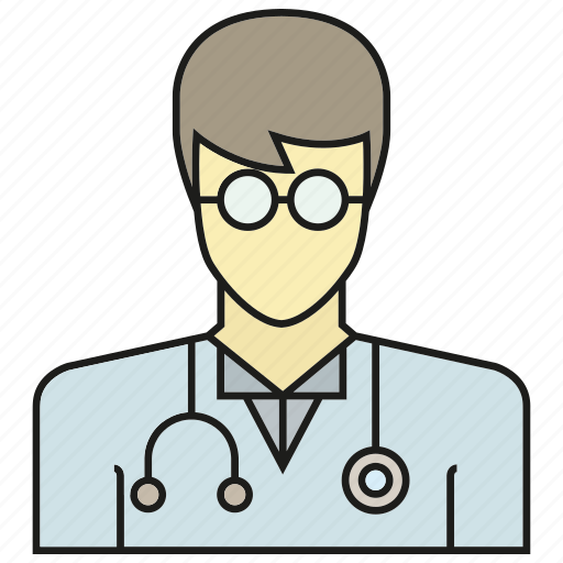 avatar, doctor, face, human, people, person, physician icon