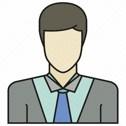avatar, business man, face, human, people, person, profile icon
