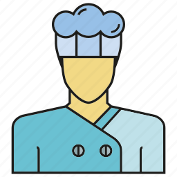 avatar, chef, cook, face, human, people, person icon