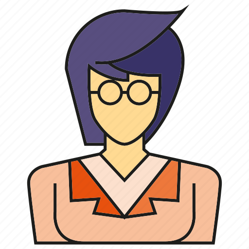 avatar, face, human, nerd, people, person, profile icon