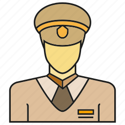 avatar, face, human, people, person, police, profile icon