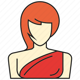 avatar, face, people, person, profile, user, woman icon