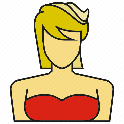 Profile, woman, people, face, person, avatar, human icon