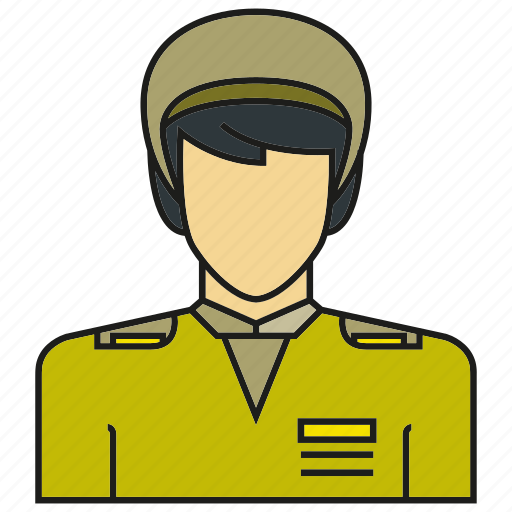 avatar, face, human, people, person, police, soldier icon