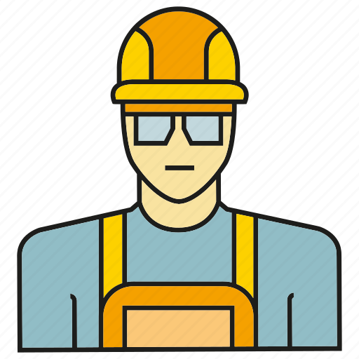 avatar, engineer, face, human, people, person, service man icon