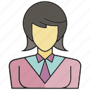 avatar, business woman, face, human, people, person, woman