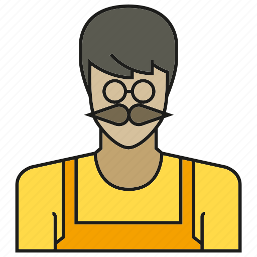 avatar, face, human, man, old, people, person icon