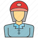 avatar, face, human, people, person, service, woman icon