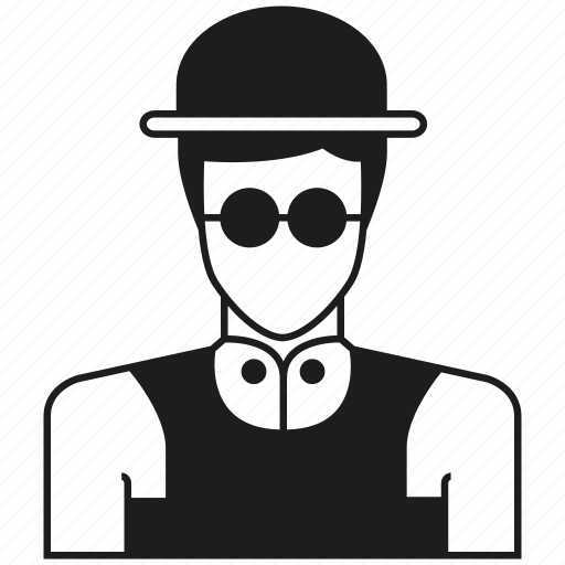 avatar, character, hat, man, people, person, profile icon