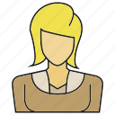 avatar, character, face, people, person, user, woman