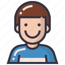 avatars, boy, character, man, profession, profile, user icon