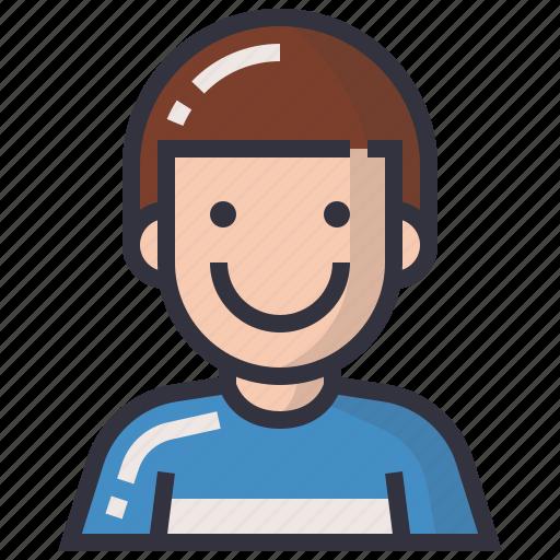 avatars, boy, character, man, profession, profile, user icon