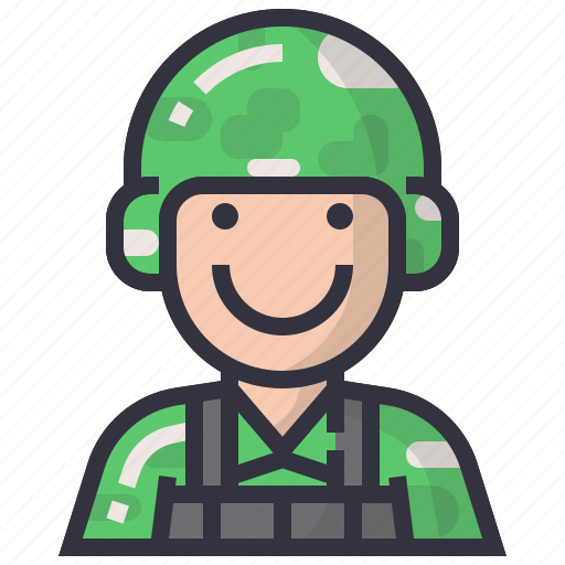 avatars, character, male, man, profession, soldier, user icon