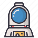 astronaut, astronomy, avatars, character, man, profession, user icon