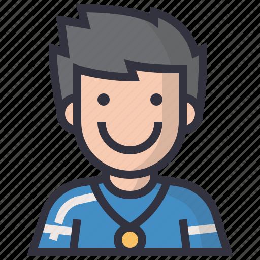 avatars, character, man, people, profession, teacher, user icon