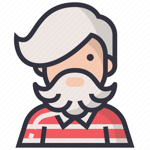 avatars, character, hipster, man, people, profession, user icon