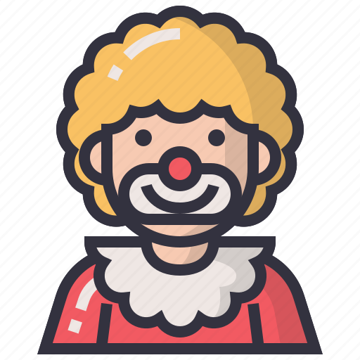 account, avatars, character, joker, man, profession, user icon