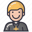 avatars, character, human, man, people, profession, profile icon