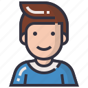 account, avatars, character, man, people, profession, profile icon